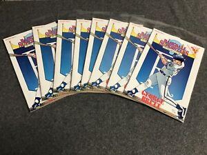 Baseball Superstars #9 lot of 8 VF+ 1992