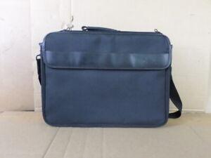Dell DN22 Black Exec Brief Laptop Case w/ Shoulder Strap