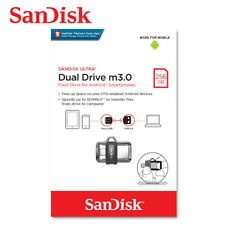 SanDisk Ultra Dual Drive 256GB m3.0 / USB3.0 for Android + Full Tracking#