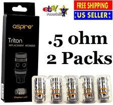 10 coils Aspire Triton V2 .5 ohm - Free Shipping - US Seller - Fits Atlantis