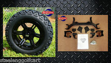 """EZGO TXT ELECTRIC GOLF CART 6"""" LIFT KIT + 14"""" REAPER WHEELS and 23"""" AT TIRES"""
