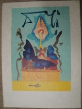 "Salvador Dali ""The Resurrection""  Lithograph S/N on Rice Paper"