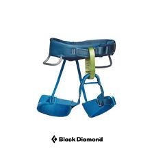 Black Diamond Boys Momentum Harness Blue Sports Climbing