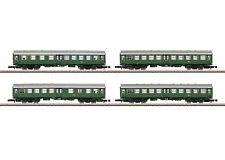 Märklin 87530 Z Gauge Reconstruction Car Set DB 4-teilig # NEW ORIGINAL
