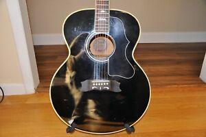 Goya G 380 Jumbo Acoustic Guitar .Goya Martin made in Japan rare guitar
