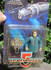 Babylon 5 figure Vir Cotto with Heavy Warship Centauri Republic Moc 1997