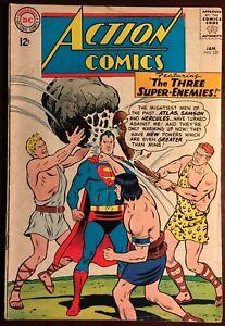 DC ACTION COMICS #320 GD/VG 3.0 January1965 THREE SUPER ENEMIES