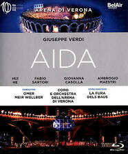 Verdi: Aida [Blu-ray], New DVDs