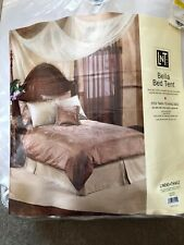 Bella Bed Tent, LNT Home, Ivory, Fits Twin to King