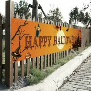 Banner Pull Flag Decoration Celebrate Halloween Party Outdoor Hanging Decor Hot