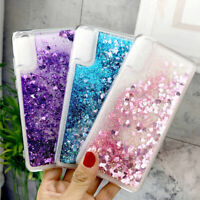 For Samsung Galaxy A70 A50 A9 A7 2018 Glitter Liquid Quicksand Soft Case Cover