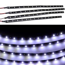 6×Flexible Led Streifen Stripe Kleber 12V 15 Leds 30cm Aquarium Weiß 6000k