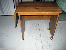 Used Printer/Typing Table, All Wood Laminate, 1 wing ext, modesty-SEE CHOICE ONE