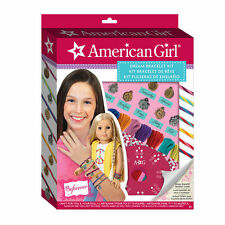 American Girl Dream Bracelet Kit Craft 7 Charms & Thread Colors Included - New
