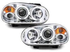 VW Golf 4 Angeleyes Scheinwerfer LED Standlicht Ringe/Chrom Bj.1997-2004
