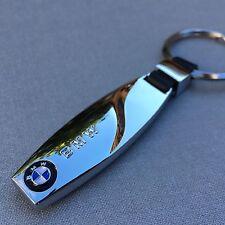 NEW BMW LOGO CHROME KEYCHAIN KEY-CHAIN Key Ring KC02
