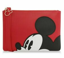 Erwachsene Primark Disney Mickey Mouse Rot Flach Umhängetasche