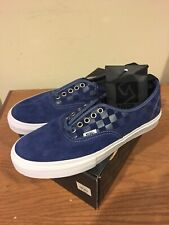 Vans Authentic 69 Pro Syndicate Navy Checker Size 9 New