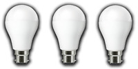 Pack of 3 Warm White Frosted GLS LED Light Bulbs (Choice of B22/E27 and 7W/10W)