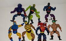 1980s MOTU He Man Vintage Figures Lot