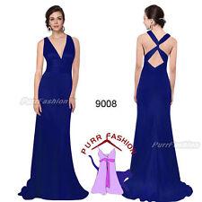 Vestiti da donna da ballo blu formale