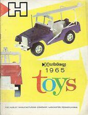 Hubley 1965 Toys - Catalogo giocattoli in inglese  U.S.A. Auto Trattori Camion