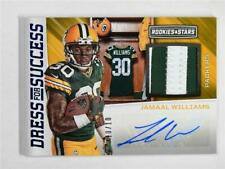 2017 Rookies & Stars Dressed For Success Auto Relic #DS-JW Jamaal Williams /10