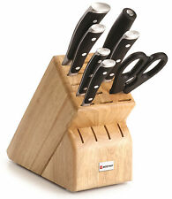 Wusthof Classic Ikon 8 Piece Block Knife Set 9908 NEW in Box Auth Dealer