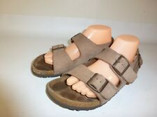 Birkenstock Milano Sandals Women's Brown Leather - US 9 (EU 40)