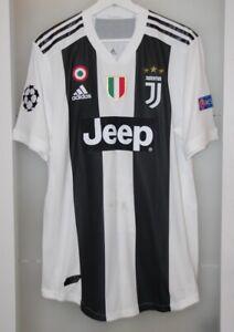 Match worn shirt Juventus Italy national team Champions League vs Valencia Spain