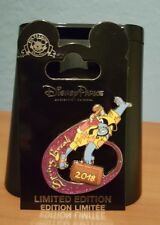 Disney Park's Aladdin  Genie with suitcase and Golf clubs Spring Break 2018 Pin