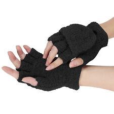 Winter Lady Girls Fluffy Hand Wrist Warmer Soft Fingerless Gloves Women Mitten