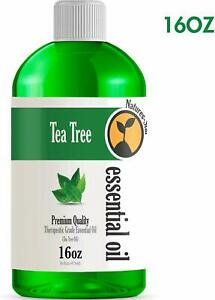 Tea Tree Essential Oil (16 Ounce Bottle) - Therapeutic Grade  16oz - Bulk Size
