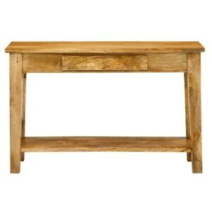 True Rustic Console Table 1 Drawer Bottom Storage Shelf Jame son (MADE TO ORDER)