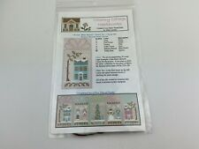 country cottage needleworks Frost Blue House Cross Stitch Pattern Winter Wonderl