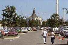 New listing Six Flags Cars in Parking Lot Carousel 35mm Slide Original Kodachrome 1978