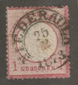 Germany 1872  #4 Imperial Eagle - Used