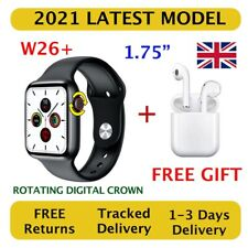 W26+ 2021 Smart Watch Series 6 - 44mm - Bluetooth Call, Rotating Digital Crown