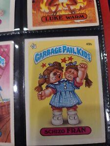 Garbage Pale Kids Schizo Fran 49b