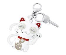 NEW SWAROVSKI CAT BAG CHARM BRAND NEW IN BOX #5271853 KEY CHAIN CUTE SALE$ F/SH