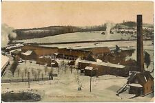View of Tannery in St. Mary's PA Postcard 1910