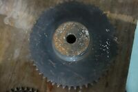 Martin Double Sprocket D60B52, For Use with #60, 52 Teeth, No Keyway Made in USA