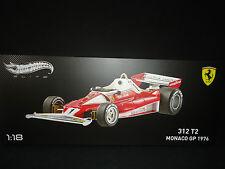 Hot Wheels Elite Ferrari 312 T2 1976 Niki Lauda Monaco GP 1/18