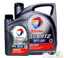 5+1 Liter TOTAL Quartz INEO ECS Fuel Economy 5W-30 für Peugeot Citroen Toyota 6