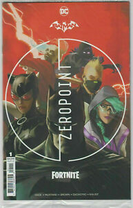 Batman Fortnite Zero Point #1 Polybagged with Code NM 1st Print DC