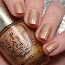 Opi Designer Series Ds Glow Bronze Copper Holographic Shimmer Nail Polish 036
