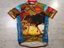 Voler Cycling Jersey Sz M Wells Fargo Horses