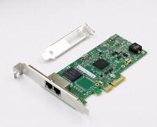 INTEL i350-T2 Dual Port Gigabit PCI-e Network Server Adapter i350AM2 1000Mbps