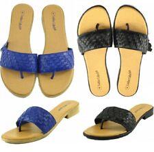 Ladies Sandals Womens Slippers Flip Flop Leather Beach Flat Thong Beach Summer