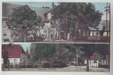 Gruss aus Wilstedt  Rotenburg  Wümme  1905  coloriert